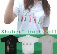 BEAMSの売れっ子デザイナー!Shuhei Tabuci Golf ポロシャツ